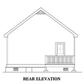 Traditional House Plan #009-00122 Elevation Photo