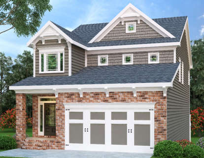 4 Bed, 3 Bath, 2171 Square Foot House Plan - #009-00126