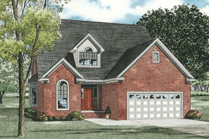 3 Bed, 2 Bath, 2287 Square Foot House Plan - #110-00032