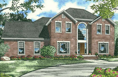 4 Bed, 3 Bath, 2802 Square Foot House Plan - #110-00035