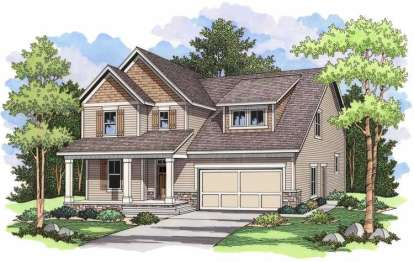 3 Bed, 2 Bath, 2516 Square Foot House Plan - #098-00038