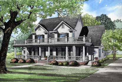 3 Bed, 2 Bath, 3706 Square Foot House Plan - #110-00043