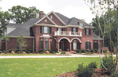 5 Bed, 4 Bath, 5548 Square Foot House Plan - #110-00047