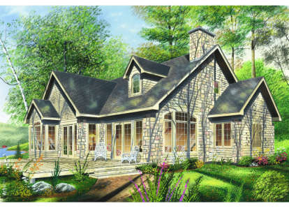 4 Bed, 2 Bath, 2037 Square Foot House Plan - #034-00031