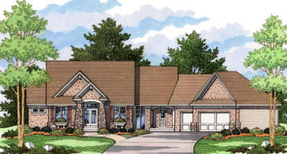 4 Bed, 2 Bath, 2706 Square Foot House Plan - #098-00045
