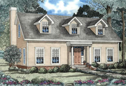 3 Bed, 2 Bath, 2044 Square Foot House Plan - #110-00073