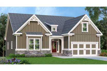 3 Bed, 2 Bath, 2234 Square Foot House Plan - #009-00138