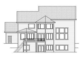 Traditional House Plan #098-00057 Elevation Photo