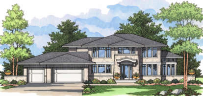 4 Bed, 2 Bath, 3190 Square Foot House Plan - #098-00059