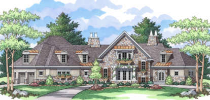 3 Bed, 2 Bath, 4747 Square Foot House Plan - #098-00061