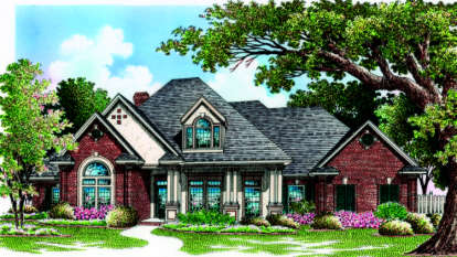 4 Bed, 3 Bath, 2891 Square Foot House Plan - #048-00225