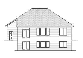 Ranch House Plan #098-00064 Elevation Photo