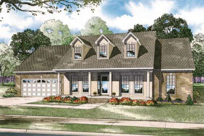4 Bed, 2 Bath, 2250 Square Foot House Plan - #110-00084