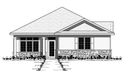 2 Bed, 2 Bath, 1609 Square Foot House Plan - #098-00074