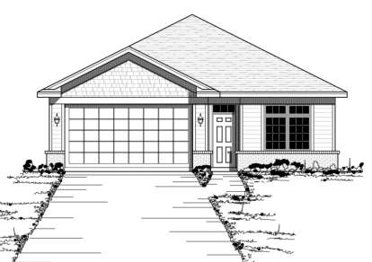2 Bed, 2 Bath, 1723 Square Foot House Plan - #098-00077