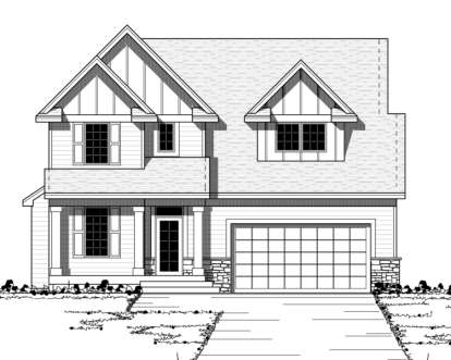 3 Bed, 2 Bath, 1945 Square Foot House Plan - #098-00081