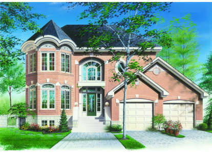 3 Bed, 2 Bath, 2125 Square Foot House Plan - #034-00034