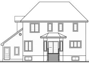 European House Plan #034-00034 Elevation Photo