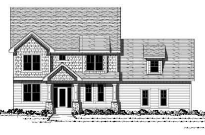 3 Bed, 2 Bath, 2608 Square Foot House Plan - #098-00104