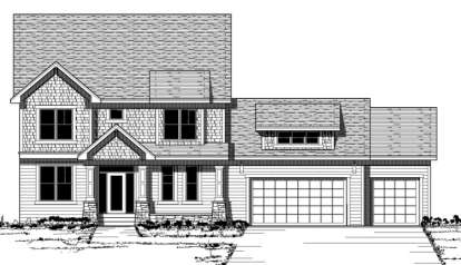 3 Bed, 2 Bath, 2608 Square Foot House Plan - #098-00105