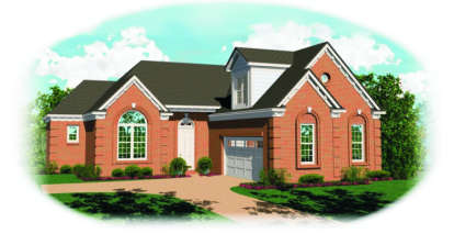 2 Bed, 2 Bath, 1862 Square Foot House Plan - #053-00448