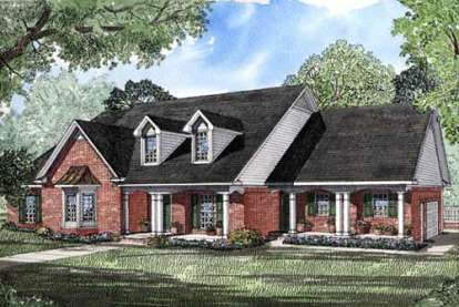 4 Bed, 4 Bath, 3059 Square Foot House Plan - #110-00120