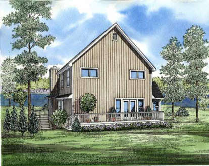 3 Bed, 2 Bath, 2054 Square Foot House Plan - #110-00124