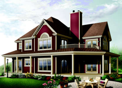 3 Bed, 2 Bath, 2350 Square Foot House Plan - #034-00041