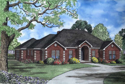 4 Bed, 2 Bath, 3139 Square Foot House Plan - #110-00132