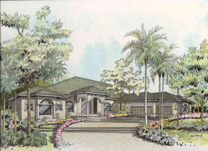 4 Bed, 4 Bath, 3593 Square Foot House Plan - #168-00026