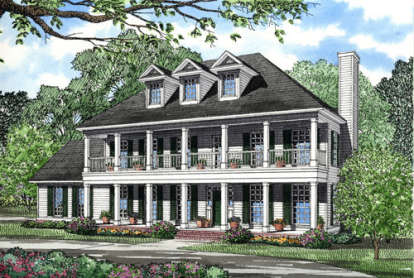 3 Bed, 2 Bath, 2268 Square Foot House Plan - #110-00154
