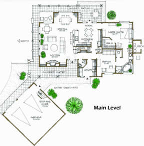 Floorplan 1 for House Plan #192-00018