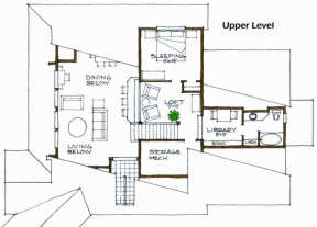Floorplan 2 for House Plan #192-00018