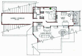 Floorplan 2 for House Plan #192-00023