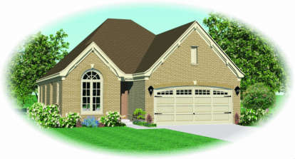 3 Bed, 2 Bath, 1540 Square Foot House Plan - #053-00454