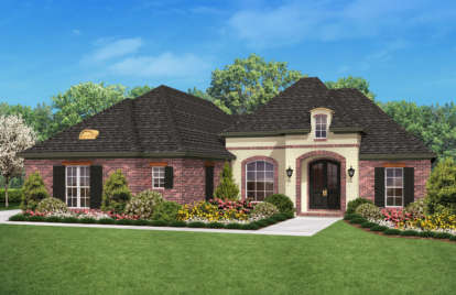 3 Bed, 2 Bath, 1800 Square Foot House Plan - #041-00032