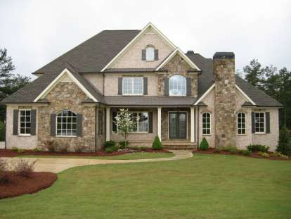 4 Bed, 3 Bath, 4138 Square Foot House Plan #286-00004
