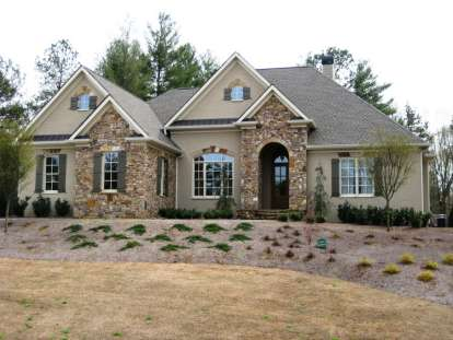 4 Bed, 4 Bath, 4077 Square Foot House Plan #286-00005