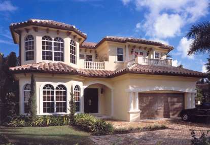 5 Bed, 4 Bath, 4224 Square Foot House Plan - #168-00050