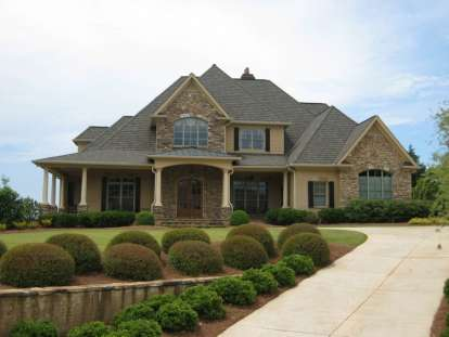 4 Bed, 4 Bath, 4012 Square Foot House Plan #286-00006