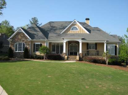 4 Bed, 3 Bath, 3837 Square Foot House Plan #286-00008
