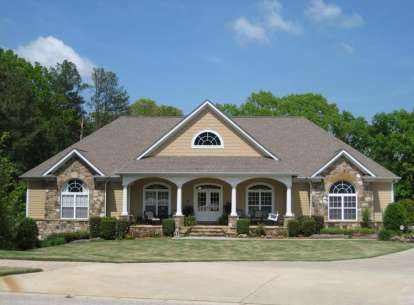 4 Bed, 3 Bath, 3498 Square Foot House Plan - #286-00011