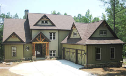 4 Bed, 3 Bath, 2961 Square Foot House Plan - #286-00018