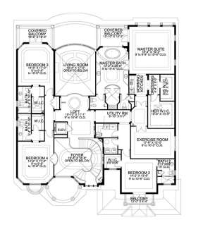 Floorplan 2 for House Plan #168-00088