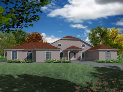 3 Bed, 2 Bath, 2134 Square Foot House Plan - #286-00034