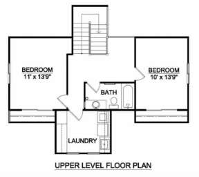 Floorplan 2 for House Plan #340-00025