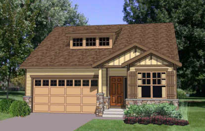 3 Bed, 2 Bath, 1786 Square Foot House Plan - #340-00028