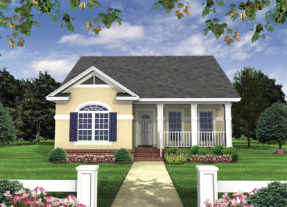 2 Bed, 2 Bath, 1100 Square Foot House Plan - #348-00005