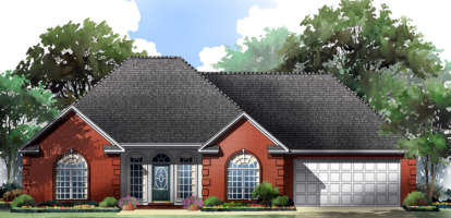 2 Bed, 2 Bath, 1503 Square Foot House Plan - #348-00022