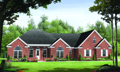 3 Bed, 2 Bath, 1955 Square Foot House Plan - #348-00090